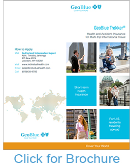 GeoBlue Trekker Choice Multi-Trip Brochure