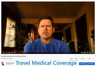 GeoBlue Voyager Travel Medical Video Message