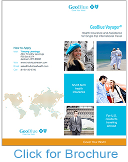 GeoBlue Voyager Choice Travel Medical Plan Brochure