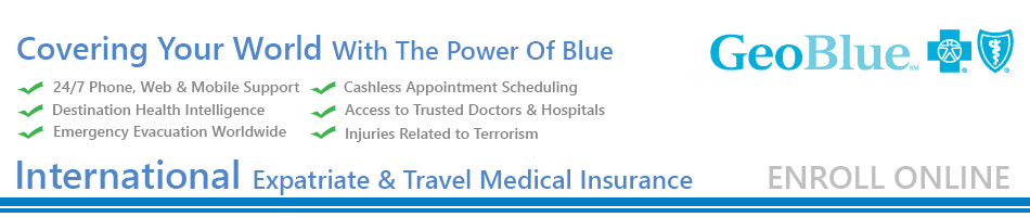GeoBlue International Travel and Health Insurance