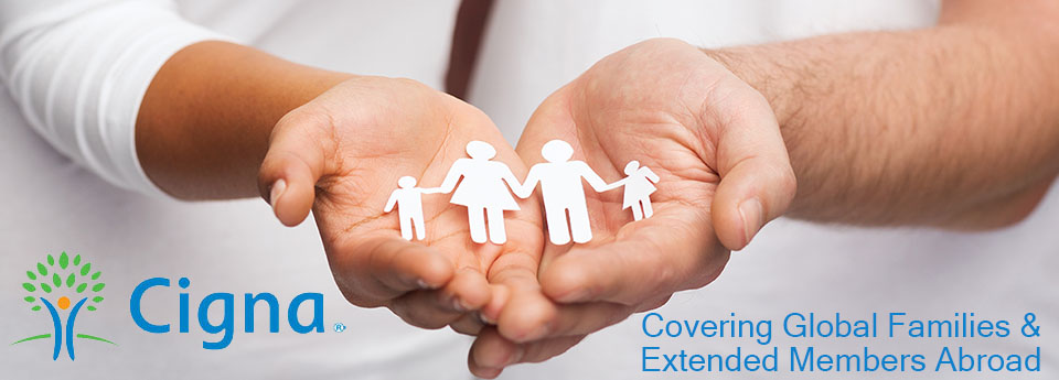 Cigna Global International Health Insurance for Individual Families and extended members